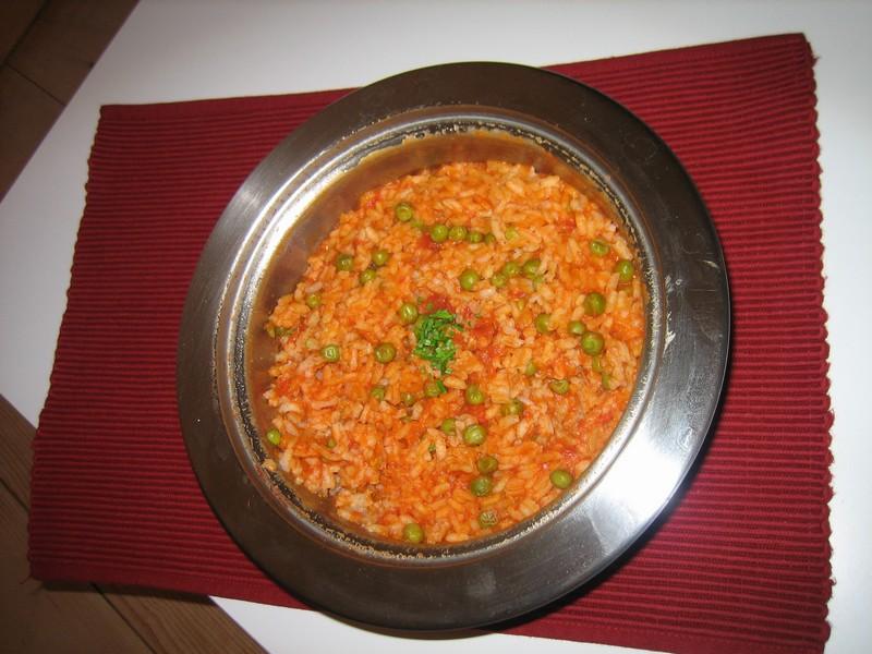 Arroz rojo roter reis - Reis kochen tasse ...